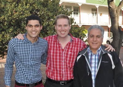 Andreas, Michael, Shivan