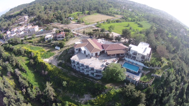 Aerial view of Paradisos Hills hotel