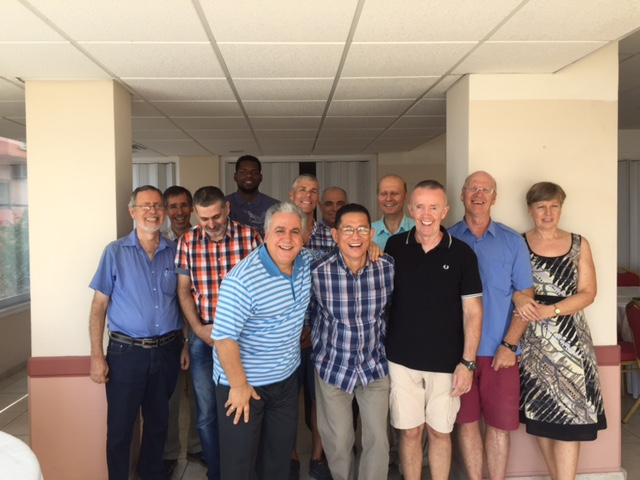 Leaders in prayer at Larnaca – September 2017