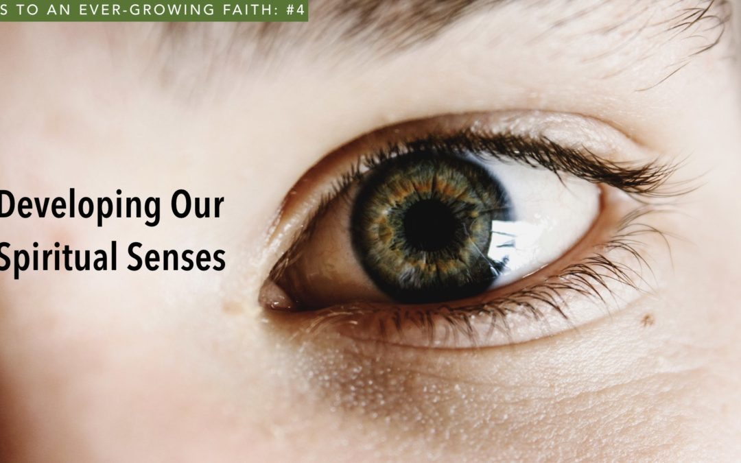 Developing Our Spiritual Senses