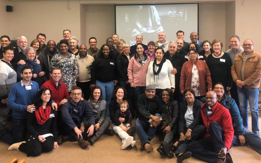 COTN Grapevine Cluster Retreat, Aug 2019
